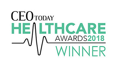 Ceotoday Healthcare Award 2018 Winner