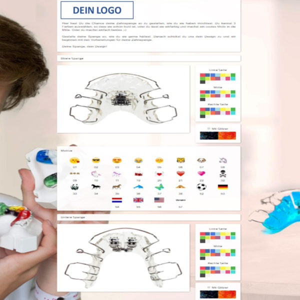 Zahnspangenkonfigurator