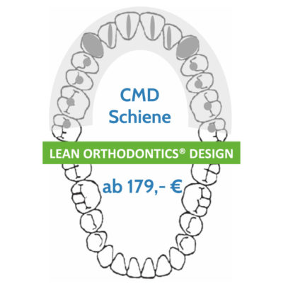 Cmd Schiene Lean Orthodontics Herausnehmbare Apparaturen Myortholab