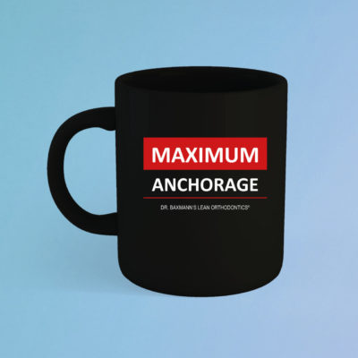 Maximum Anchorage Tasse Schwarz