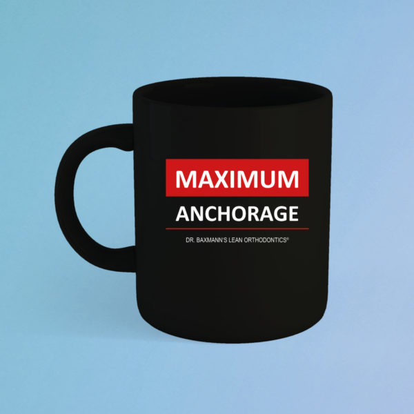 Maximum Anchorage Tasse Schwarz