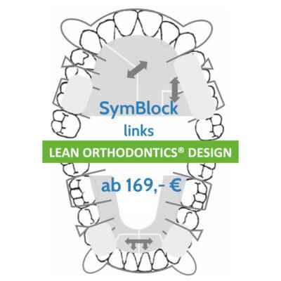 Symblock Links Zahnbehandlung Herausnehmbare Apparatur Myortholab