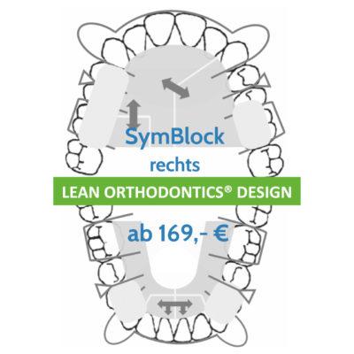 Symblock Rechts Zaehn Korrigieren Kfo Behandlung Herausnehmbare Apparatur Myortholab