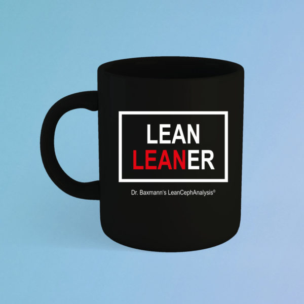 Tasse Lean Leaner Schwarz