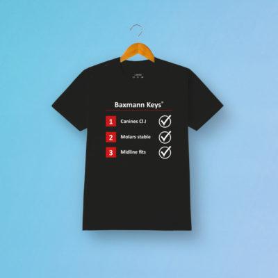 Tshirt Fanartikel Baxmann Keys Schwarz