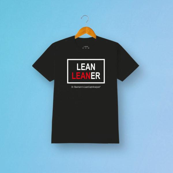 Tshirt Lean Leaner Schwarz