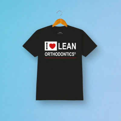 Tshirt Love Orthodontics Schwarz