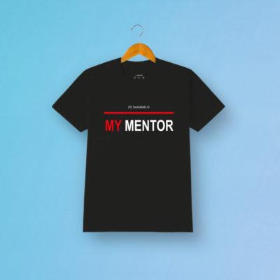Tshirt My Mentor Schwarz