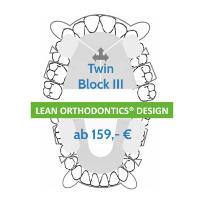 Twin Block 3 Lean Orthodontics Kfo Behandlung Myortholab