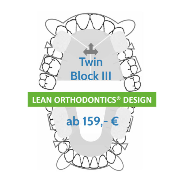 Twin Block 3 Lean Orthodontics Kfo Behandlung Myortholab