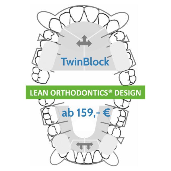 Twin Block Behandlung Herausnehmbare Apparaturen Myortholab