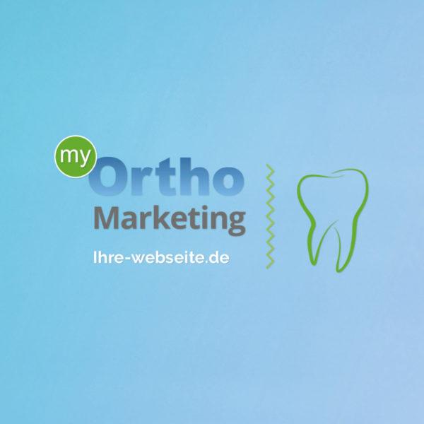Zahnarzt Logo Kieferorthopaede Kfo Praxis Marketing
